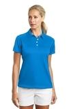 Women's Nike Golf Dri-FIT Pebble Texture Shirt Photo Blue Thumbnail