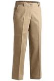 Women's Flat Front Pant Tan Thumbnail