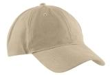 Brushed Twill Low Profile Cap Khaki Thumbnail
