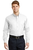 Long Sleeve Superpro Twill Shirt White Thumbnail