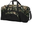 Colorblock Sport Duffel Military Camo with Black Thumbnail
