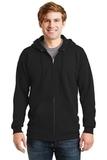 Ultimate Cotton Full-zip Hooded Sweatshirt Black Thumbnail
