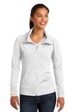 Women's Sport-wick Stretch Full-zip Jacket White Thumbnail