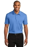 Silk Touch Performance Pocket Polo Carolina Blue Thumbnail