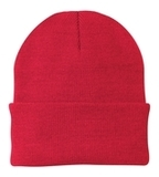 Knit Cap Athletic Red Thumbnail