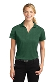 Women's Heather Contender Polo Forest Green Heather Thumbnail