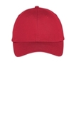 Port Company Six-panel Unstructured Twill Cap True Red Thumbnail