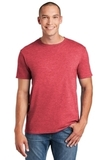 Softstyle Ring Spun Cotton T-shirt Heather Red Thumbnail