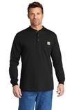 Carhartt Long Sleeve Henley T-Shirt Thumbnail