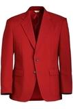 Men's Value Polyester Blazer Red Thumbnail