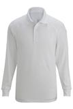 Edwards Tactical Snag Proof Unisex Long Sleeve Polo Shirt White Thumbnail