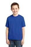 Youth 50/50 Cotton / Poly T-shirt Royal Thumbnail