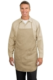 Full Length Apron Khaki Thumbnail