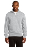 1/4-zip Sweatshirt Athletic Heather Thumbnail