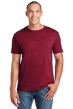 Softstyle Ring Spun Cotton T-shirt Antique Cherry Red Thumbnail