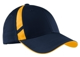 Dry Zone Mesh Inset Cap True Navy with Gold Thumbnail