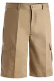 Men's Flat Front Cargo Short Tan Thumbnail