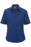 Women's Short Sleeve Service Shirt Royal Thumbnail