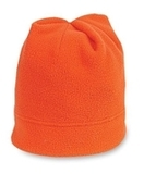 Stretch Fleece Beanie Orange Thumbnail