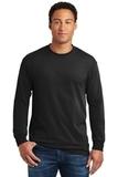 Heavy Cotton 100 Cotton Long Sleeve T-shirt Black Thumbnail
