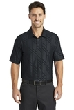 Nike Golf Dri-FIT Embossed Polo Black Thumbnail