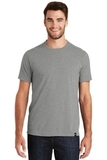 New Era Heritage Blend Crew Tee Shadow Grey Heather Thumbnail