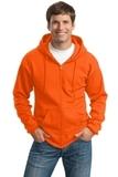 Tall Ultimate Full-zip Hooded Sweatshirt Safety Orange Thumbnail