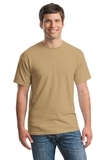 Heavy Cotton 100 Cotton T-shirt Old Gold Thumbnail