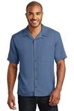 Easy Care Camp Shirt Blue Thumbnail