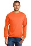 Crewneck Sweatshirt Safety Orange Thumbnail