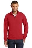 Fan Favorite Fleece 1/4 Zip Pullover Sweatshirt Bright Red Thumbnail