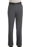 Women's Flat Front 100 Polyester Security Pants Grey Heather Thumbnail