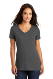 Women's Perfect Weight V-neck Tee Charcoal Thumbnail