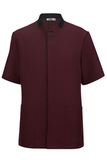 100 Polyester Men's Solid Tunic Wine Thumbnail
