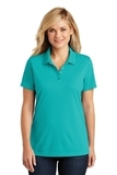 Women's Dry Zone UV MicroMesh Polo Aquamarine Thumbnail