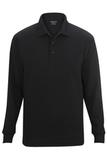 Edwards Unisex Snag Proof Long Sleeve Polo Black Thumbnail