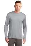 Competitor Long Sleeve Tee Silver Thumbnail