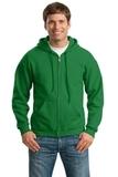 Full-zip Hooded Sweatshirt Irish Green Thumbnail