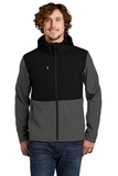 Castle Rock Hooded Soft Shell Jacket Asphalt Grey Thumbnail
