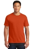 50/50 Cotton / Poly T-shirt Burnt Orange Thumbnail