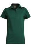 Women's Short Sleeve Blended Pique Polo Hunter Thumbnail