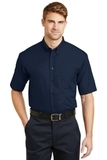 Short Sleeve Superpro Twill Shirt Navy Thumbnail
