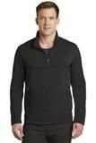 Collective Smooth Fleece Jacket Deep Black Thumbnail