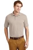 Ultra Blend 5.6-ounce Jersey Knit Sport Shirt Sand Thumbnail
