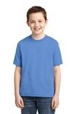 Youth 50/50 Cotton / Poly T-shirt Columbia Blue Thumbnail