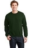 Heavy Blend Crewneck Sweatshirt Forest Thumbnail