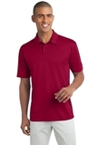 Legendary Sateen Moisture Wicking Polo Red Thumbnail