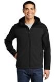 Hooded Core Soft Shell Jacket Black Thumbnail