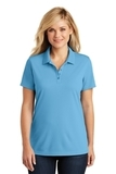 Women's Dry Zone UV MicroMesh Polo Carolina Blue Thumbnail