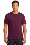 50/50 Cotton / Poly T-shirt Maroon Thumbnail